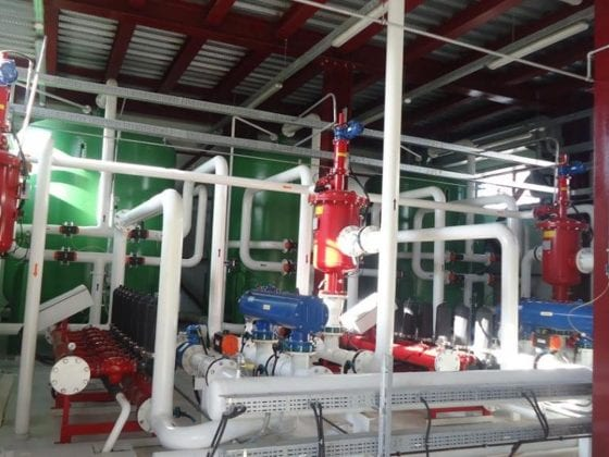 Pilot Project Textile Industry I Turkey - Existing advanced WWTP1